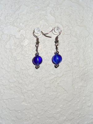 Earring - Bold Navy Blue