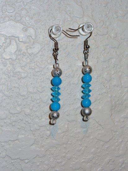 Earring blue