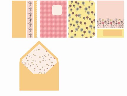 SEI Chick-A-Dee Cards And Envelopes