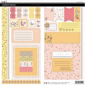 SEI Chick A Dee Cardstock Stickers