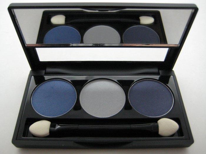 NYX Trio Eyeshadow #26 VELVET BLUE - OCEAN FROST - SPACE