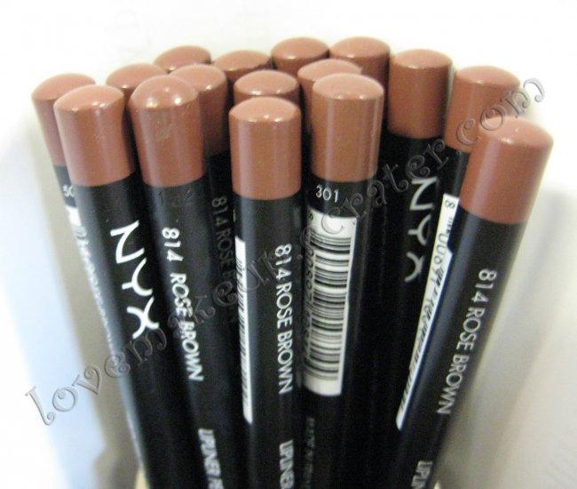 NYX Slim Pencil LIP LINER 814 ROSE BROWN