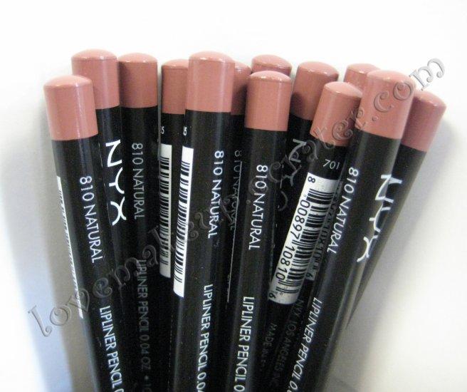 NYX Slim Pencil LIP LINER 810 NATURAL