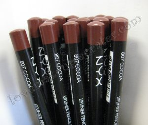 NYX Slim Pencil LIP LINER 807 COCOA