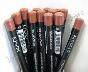 NYX Slim Pencil LIP LINER 806 CHOCOLATE