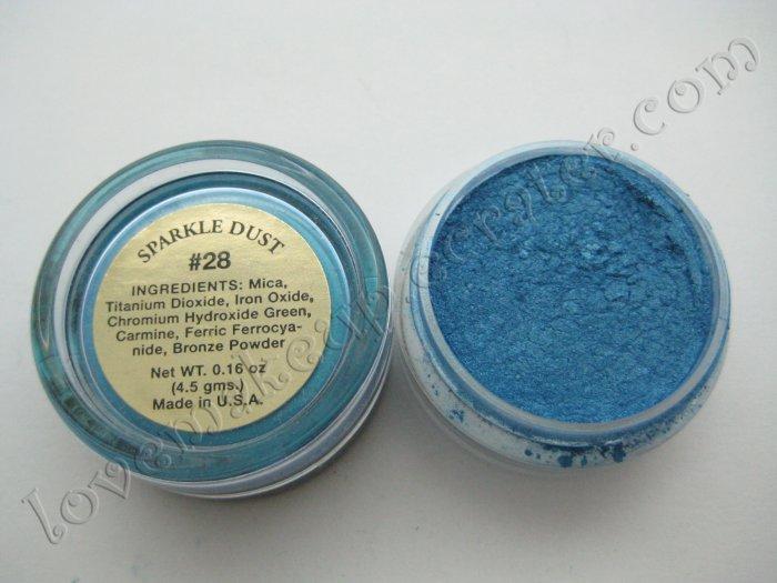 La Femme SPARKLE DUST #28 BLUE (Comparable to Napoleon Perdis and MAC)