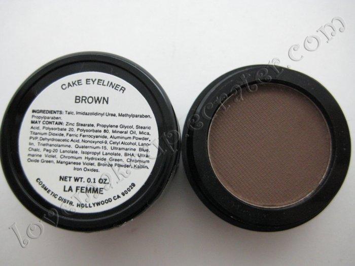 La Femme CAKE EYE LINER - BROWN