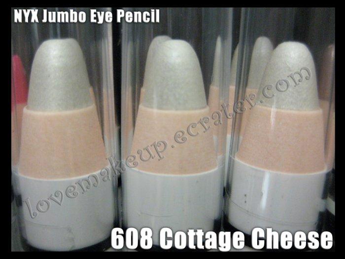 NYX Jumbo Eye EYESHADOW PENCIL 608 * COTTAGE CHEESE *