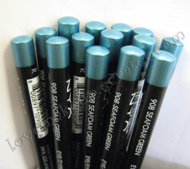 NYX Slim Pencil EYE LINER EYEBROW LINER 908 SEAFOAM GREEN
