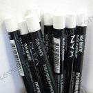 NYX Slim Pencil EYE LINER EYEBROW LINER 906 WHITE [Possible MAC Dupe: Fascinating Eye Kohl]