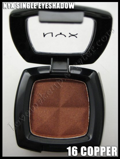Mac Single Eyeshadow Collection: NYX Single EYESHADOW *16 COPPER* [POSSIBLE MAC DUPE