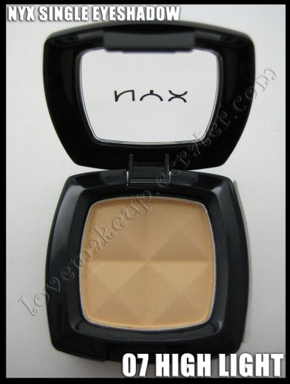NYX Single EYESHADOW *07 HIGH LIGHT* [POSSIBLE MAC DUPE: ROSE BLANC]