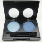 ITALIA Diamond Eyeshadow Duo 11 [Light Blue/Blue] Shimmer