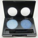 ITALIA Diamond Eyeshadow Duo 11 [Light Blue/Blue] Shimmer