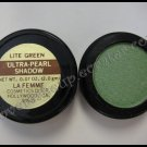 La Femme ULTRA PEARL EYE SHADOW - LITE GREEN