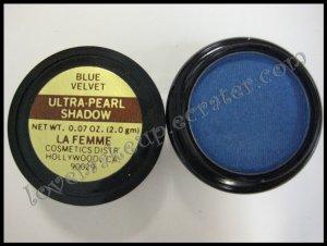 La Femme ULTRA PEARL EYE SHADOW - BLUE VELVET