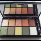 NYX 10 COLOR EYESHADOW PALETTES Runway Collection - 08 Secret World