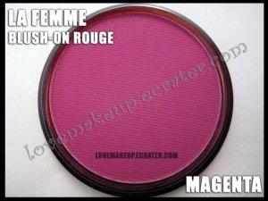 LA FEMME Blush-On Rouge - Magenta