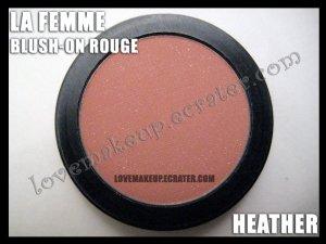 LA FEMME Blush-On Rouge - Heather