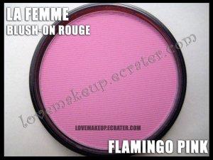 LA FEMME Blush-On Rouge - Flamingo Pink