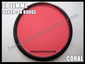 LA FEMME Blush-On Rouge - Coral