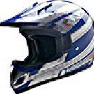 OFF ROAD HELMET A60608 BLUE KNIGHT - XS