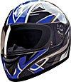 FULL FACE HELMET 75756 BLUE BLADE  -    M