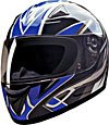 FULL FACE HELMET 75756 BLUE BLADE  -    XXL