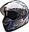 FULL FACE HELMET PC77773 MATT BLUE SHARK -   XXL