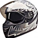 FULL FACE HELMET PC77774 MATT SILVER SHARK  -  XS