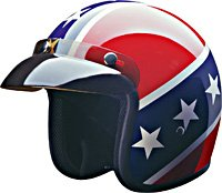 OPEN FACE HELMET 10015 REBEL   -   M