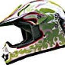 KIDS HELMET K60607 GREEN DOUBLEBONE   -    XL