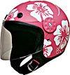 Helmet w/Redbud Flowers Pink/White 15112  -   L