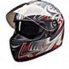 FULL FACE HELMET PC77772 MATT RED SHARK  -     XL