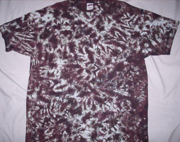 Brown Crinkle Tie Dye Adult Size XL