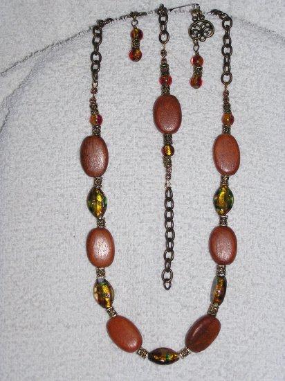 Antiqued Amber
