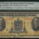 1935 $10 royal bank of canada  PMG 10  very nice