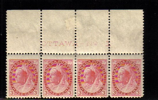 1899 3cents STAMPS Queen Victoria canada scarce #78