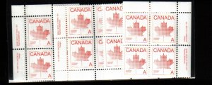 1981 30cents STAMPS #907  PLATE#1 16stamps