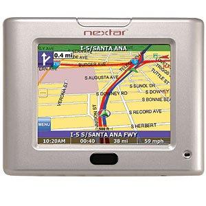Nextar S3 3.5 Inch GPS Navigation System - SILVER