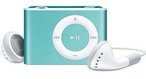 Apple iPod� shuffle 1GB MP3 Player-Light Blue-Free Shipping!!!