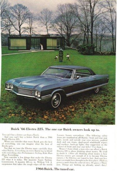1966 Buick Electra 225 color vintage magazine sales ad