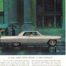 1964 Cadillac collectible vintage color magazine sales ad