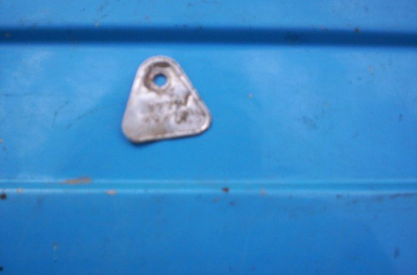 1967 Plymouth Belvedere II 2bbl carburetor tag