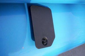 2000 2001 GMC Jimmy & Envoy GRAY fuse panel access door