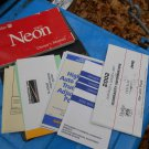 02 2002 Dodge Neon complete owners manual set