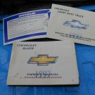 97 1997 Chevy Blazer owners manual set GM SUV 4X4