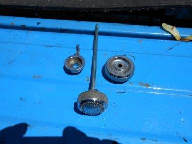 1971 1972 Cadillac Eldorado sentinel headlight knobs set of 3 GM