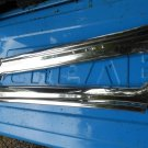 1967 Ford Galaxie 2dr coupe outer front pillar post stainless NICE FOMOCO