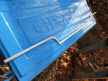 73 74 75 76? Ford LTD Galaxie lower trunk lid molding no dings 63K orig mile car